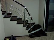 Лестницы деревянные,  на металлокаркасе. - foto 0