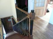 Лестницы деревянные,  на металлокаркасе. - foto 5